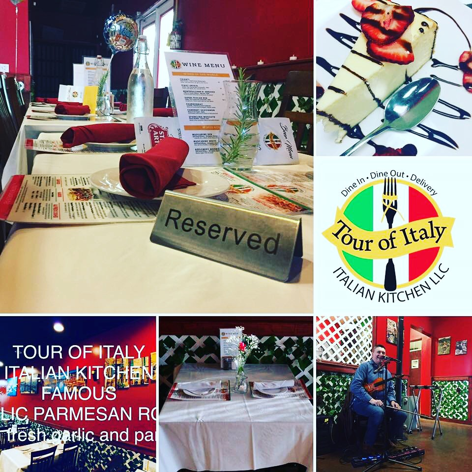 Tour of Italy Kitchen Events and Inside